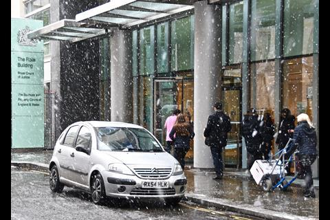 Snow The Rolls Building